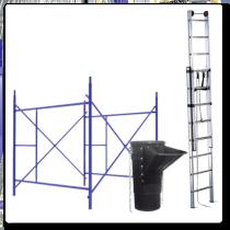 Tubos de descarga Andamios Escaleras Click Maquinas